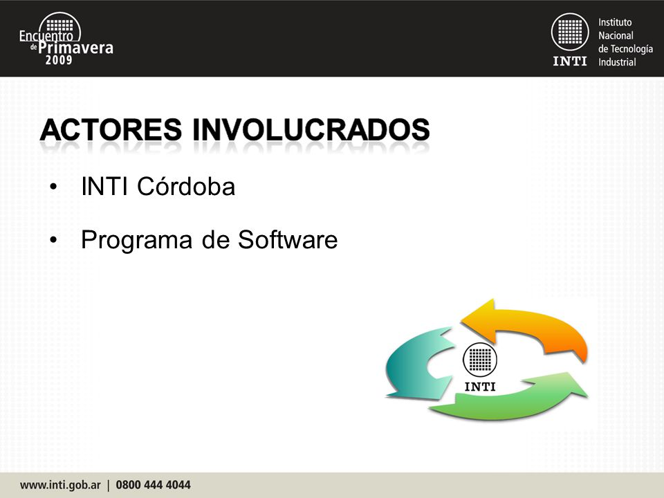 INTI Córdoba Programa de Software