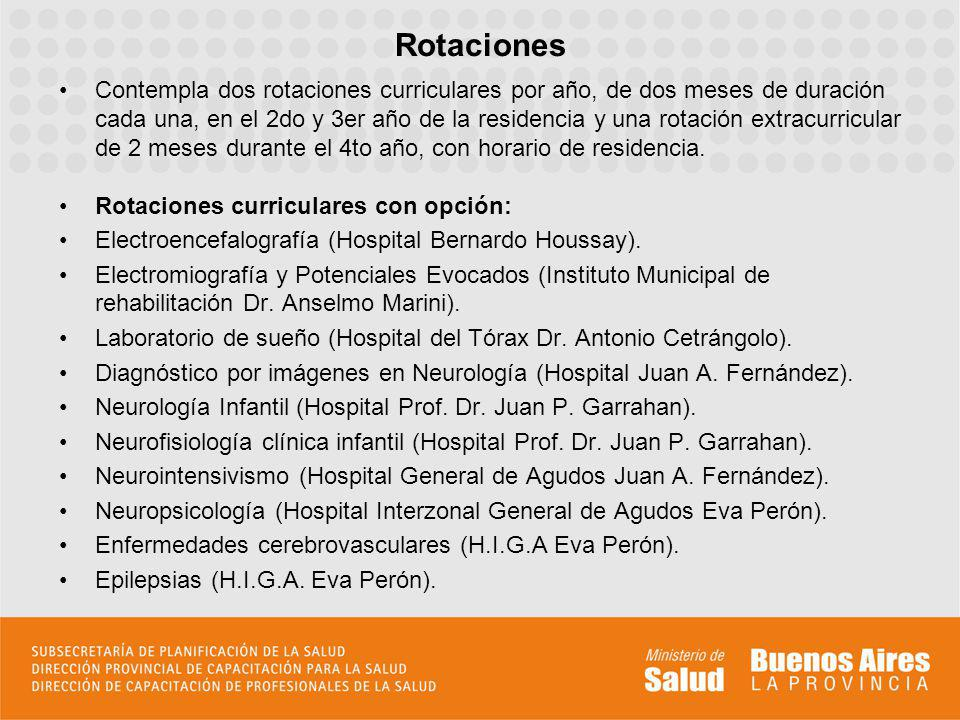 Rotaciones extracurriculares: Neurointervensionismo (Servicio de Hemodinamia del Hospital Zonal General de Agudos Prof.
