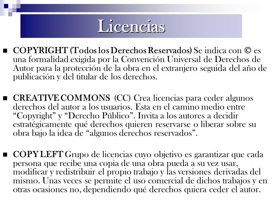 COPYRIGHT (Todos los Derechos Reservados) Se indica con © es una formalidad exigida por la Convención Universal de Derechos de Autor para la protecció