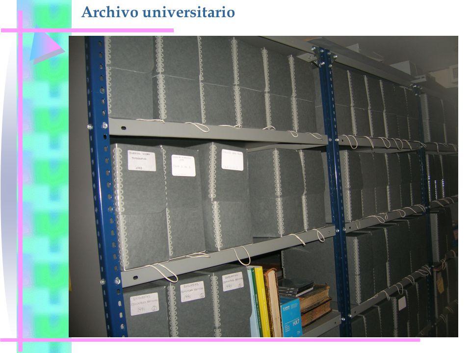 Archivo universitario