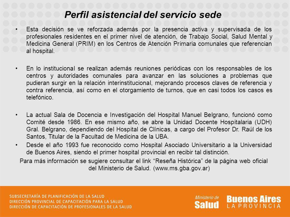 Actividad Asistencial Médicos de Planta y de Guardia: Dra.