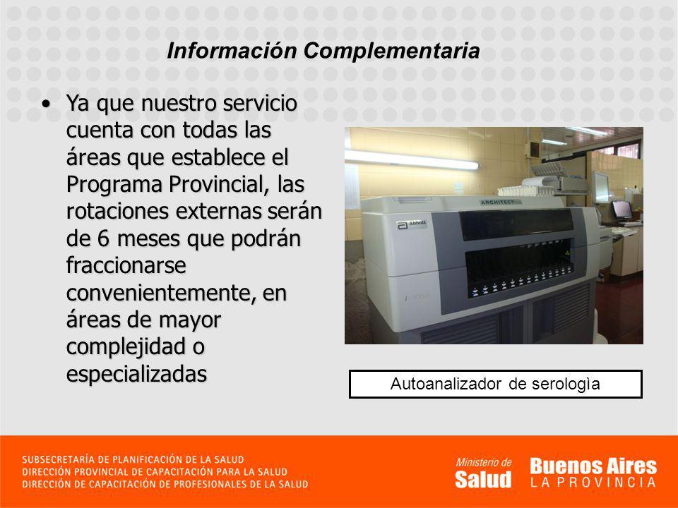 Te invitamos a conocer algunos de los sectores del laboratorio con su equipamiento Autoanalizador de hematologìa Campana de Bioseguridad