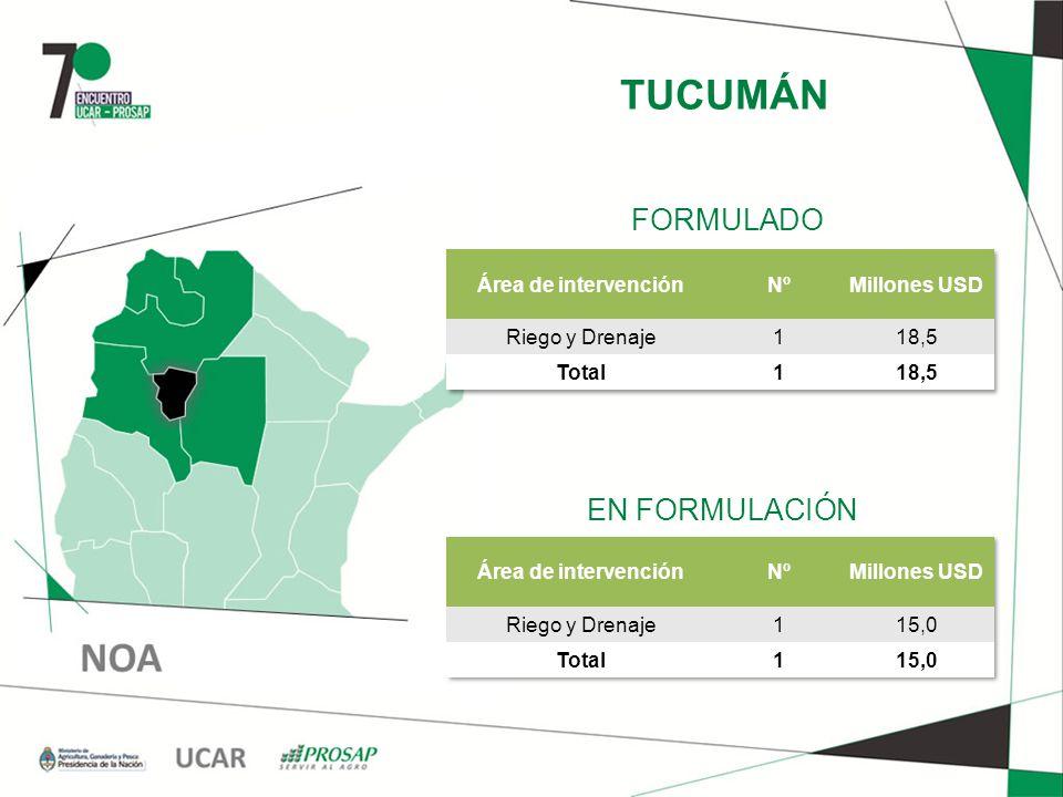 TUCUMÁN EN FORMULACIÓN FORMULADO