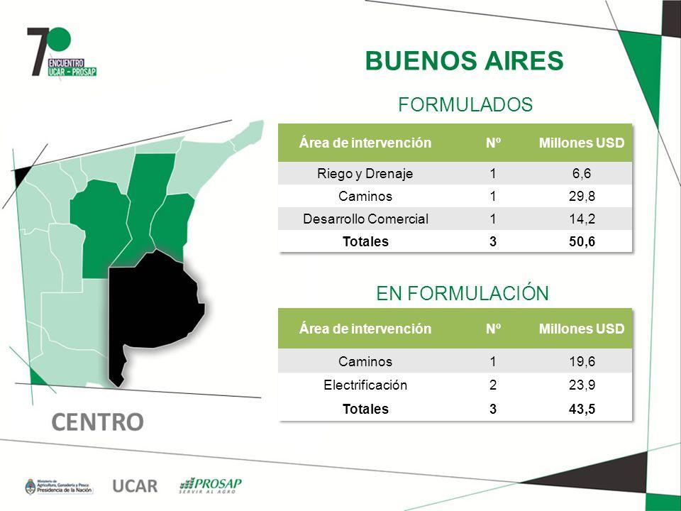 BUENOS AIRES EN FORMULACIÓN FORMULADOS