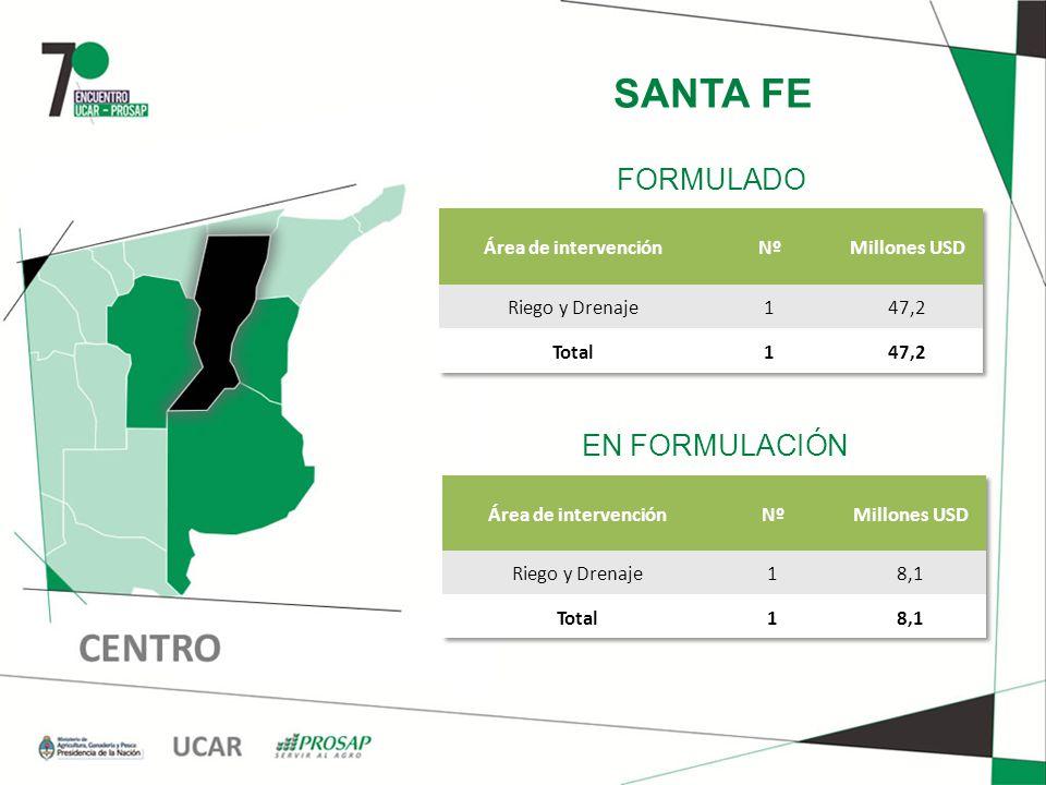 SANTA FE EN FORMULACIÓN FORMULADO