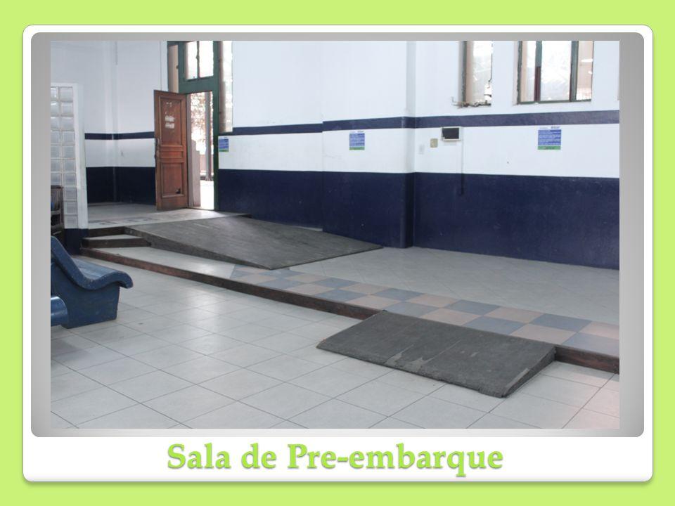 Sala de Pre-embarque