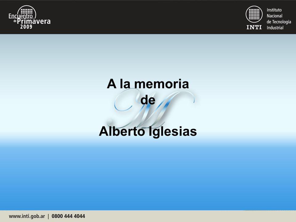 A la memoria de Alberto Iglesias