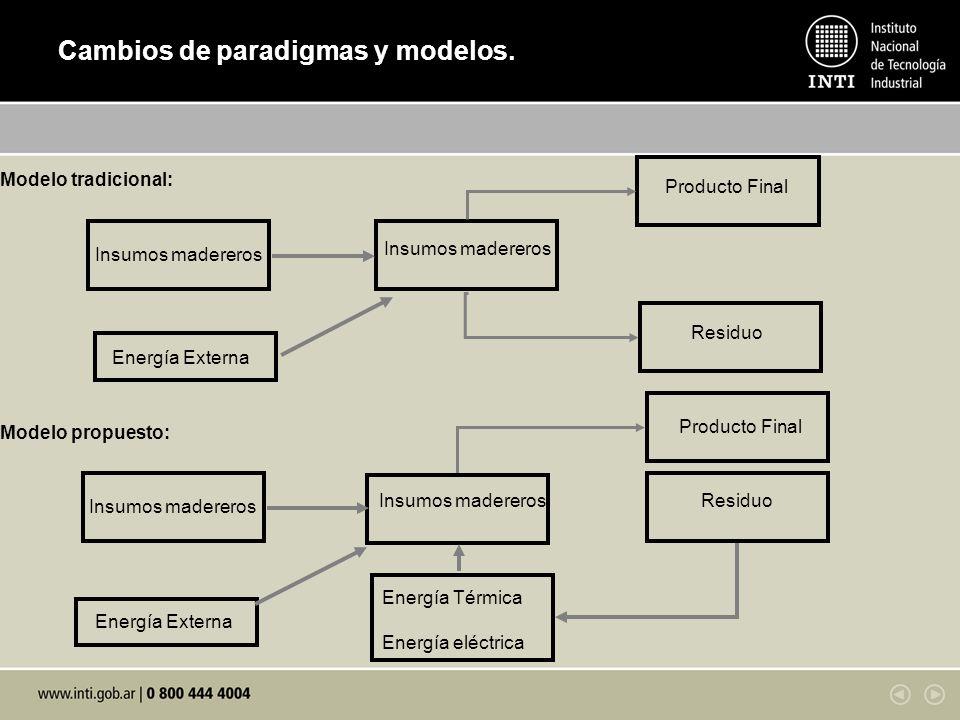 Cambios de paradigmas y modelos.