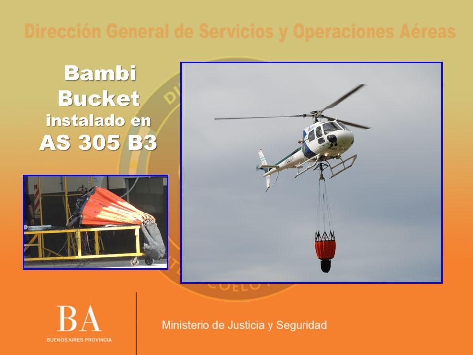 Bambi Bucket instalado en AS 305 B3 Bambi Bucket instalado en AS 305 B3