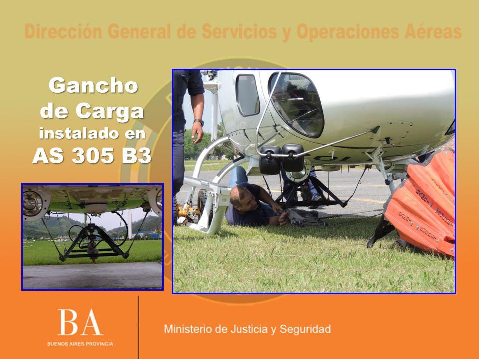 Gancho de Carga instalado en AS 305 B3 Gancho de Carga instalado en AS 305 B3