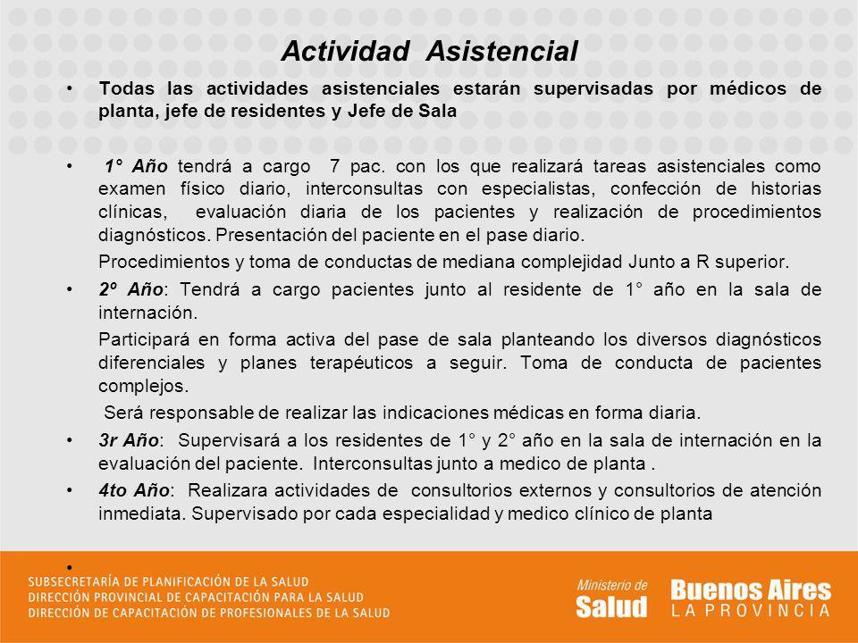 El servicio de clínica participa actualmente: 1.BENEFIT ( Chagas Crónico) 2.