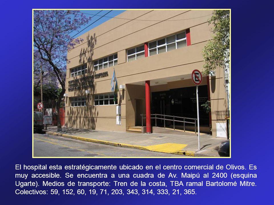 El hospital esta estratégicamente ubicado en el centro comercial de Olivos. Es muy accesible. Se encuentra a una cuadra de Av. Maipú al 2400 (esquina