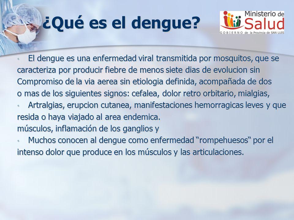 ¿Qué es el dengue? El dengue es una enfermedad viral transmitida por mosquitos, que se El dengue es una enfermedad viral transmitida por mosquitos, qu