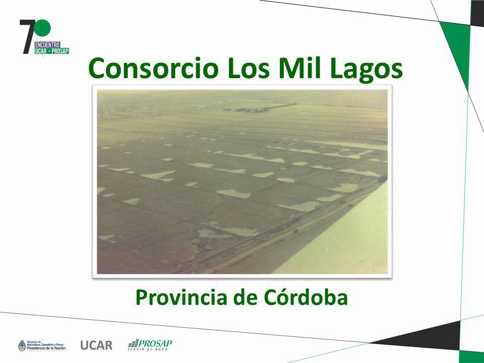Consorcio Los Mil Lagos Provincia de Córdoba