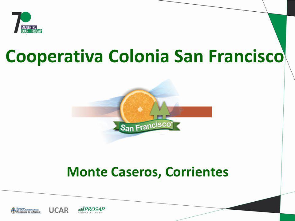 Cooperativa Colonia San Francisco Monte Caseros, Corrientes