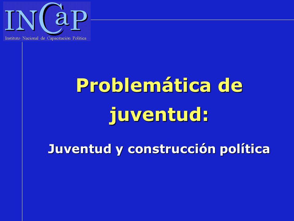 Problemática de juventud: Juventud y construcción política