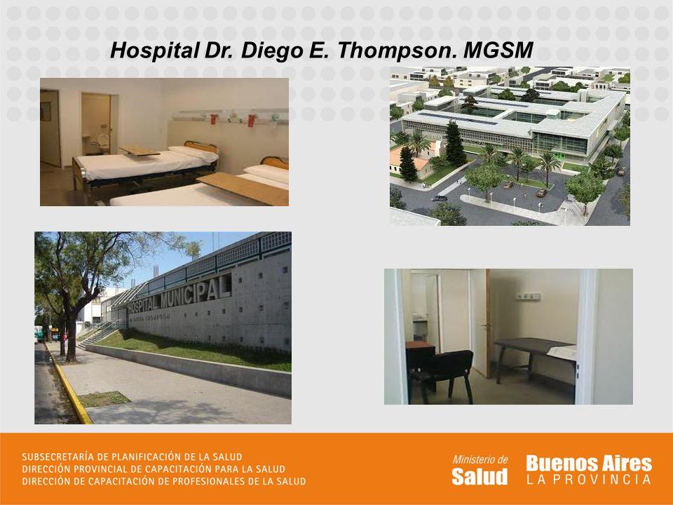 Hospital Dr. Diego E. Thompson. MGSM