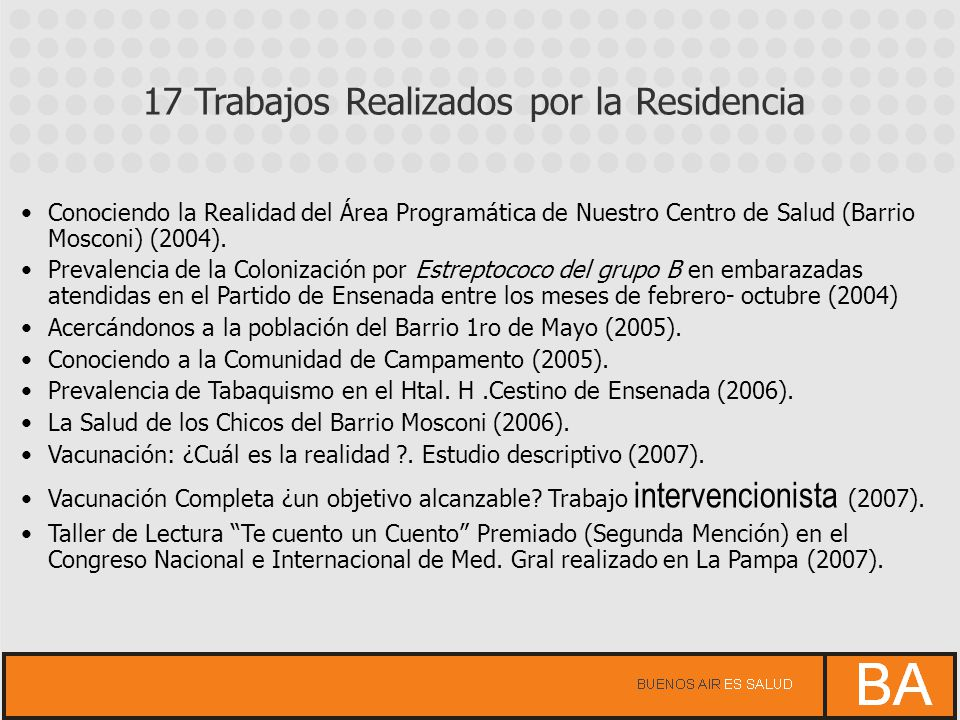 Proyecto Agua y Salud en Ensenada (2008).