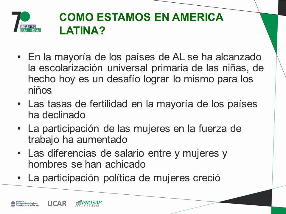 IMPACTO DE CAMBIO CLIMÁTICO De la conferencia de Género y Cambio Climático (Oct.