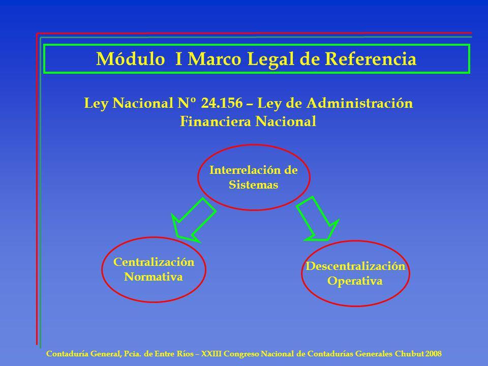 MODULO II Análisis de la Metodología para la preparación de la Información Contable requerida en el Anexo I del Art.