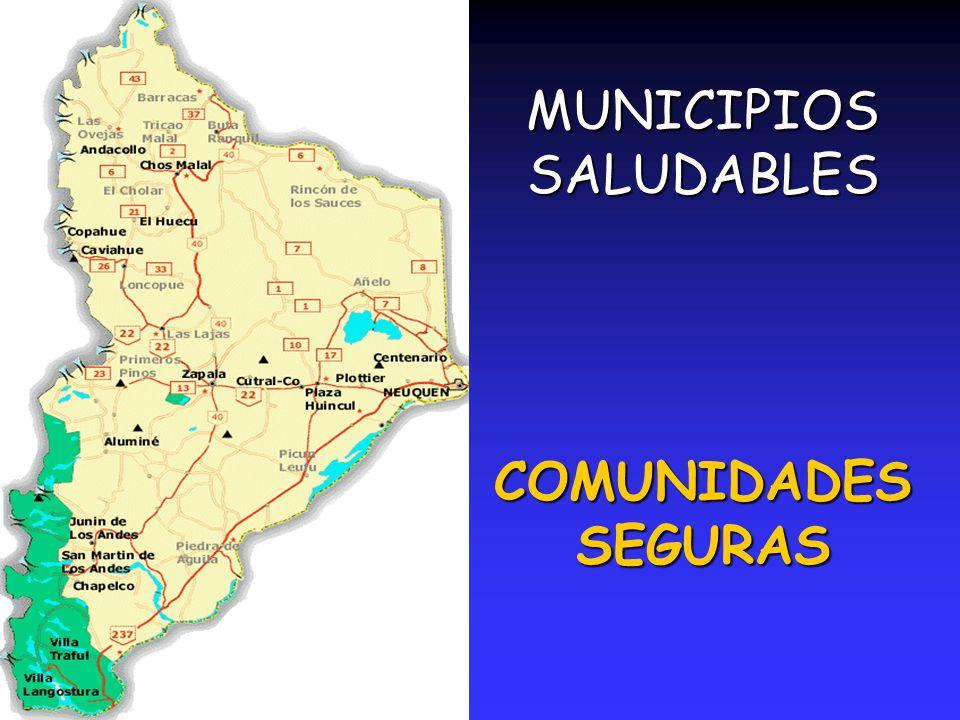 MUNICIPIOS SALUDABLES COMUNIDADES SEGURAS