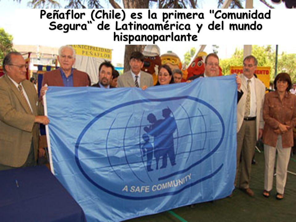 Peñaflor (Chile) es la primera