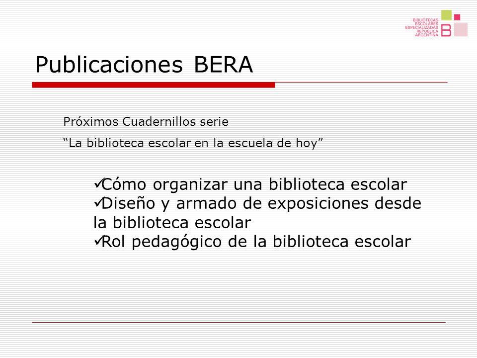 ¡¡ Muchas Gracias !! Equipo BERA www.bnm.me.gov.ar/bera