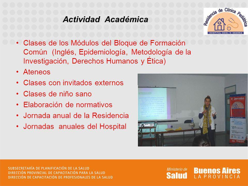 Elaboración de trabajos de investigación que se presentan en congresos y jornadas.