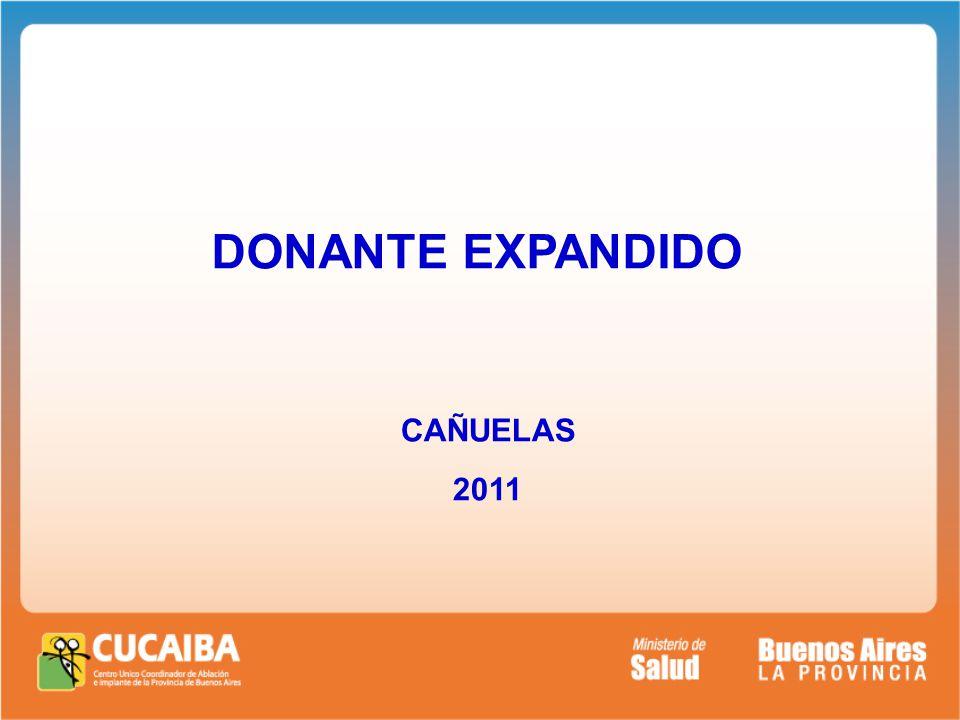 DONANTE EXPANDIDO CAÑUELAS 2011