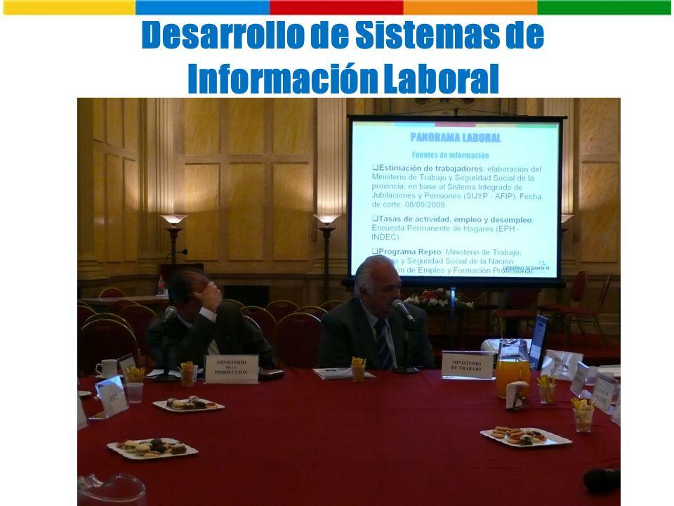 Desarrollo de Sistemas de Información Laboral