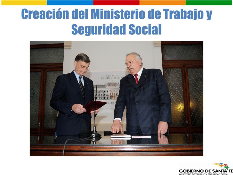 Creación del Ministerio de Trabajo y Seguridad Social