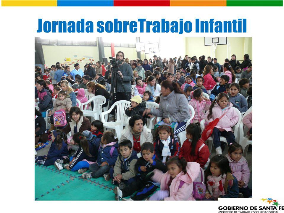 Jornada sobreTrabajo Infantil