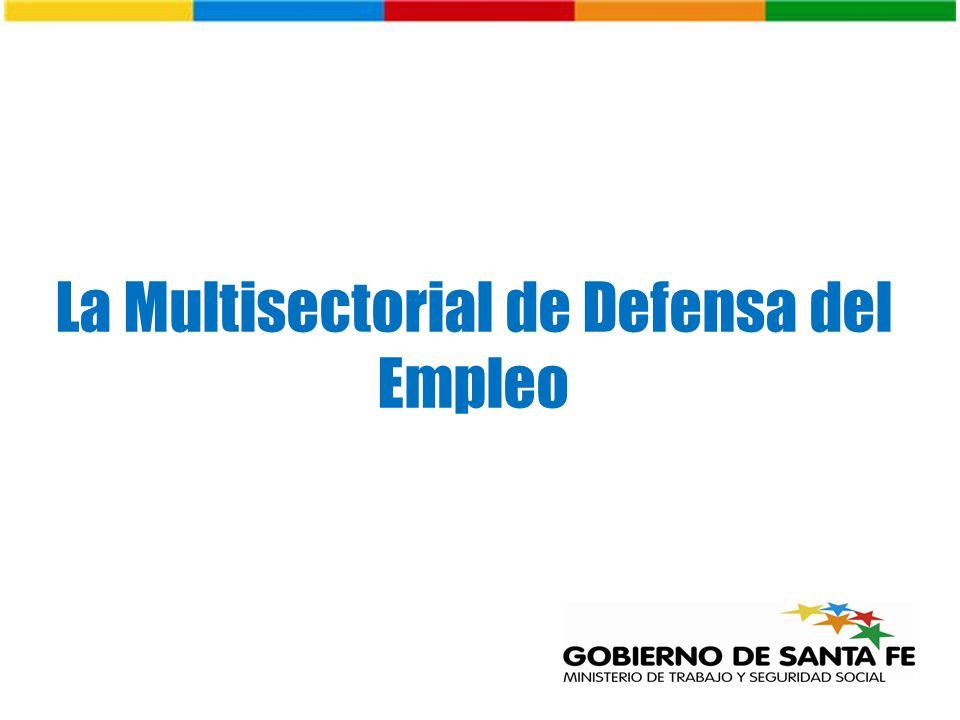 La Multisectorial de Defensa del Empleo