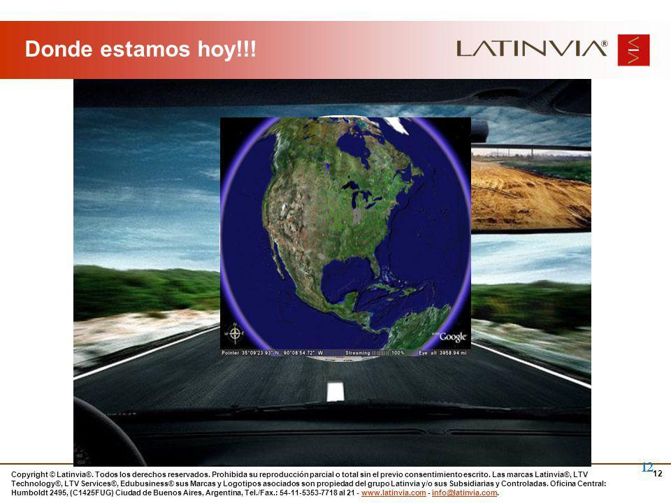 12 Copyright © Latinvia®. Todos los derechos reservados.