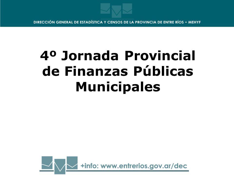 4º Jornada Provincial de Finanzas Públicas Municipales