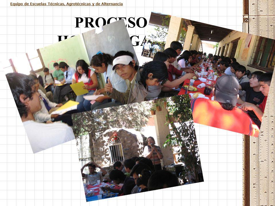 PROCESO DE HOMOLOGACIÓN IV Encuentro de estudiantes del último año de Escuelas Agrotécnicas y Alternancia. Por cuarta vez consecutiva, los estudiantes
