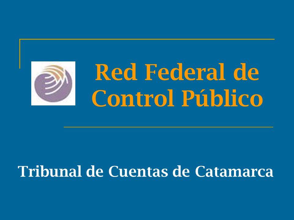 Red Federal de Control Público Tribunal de Cuentas de Catamarca