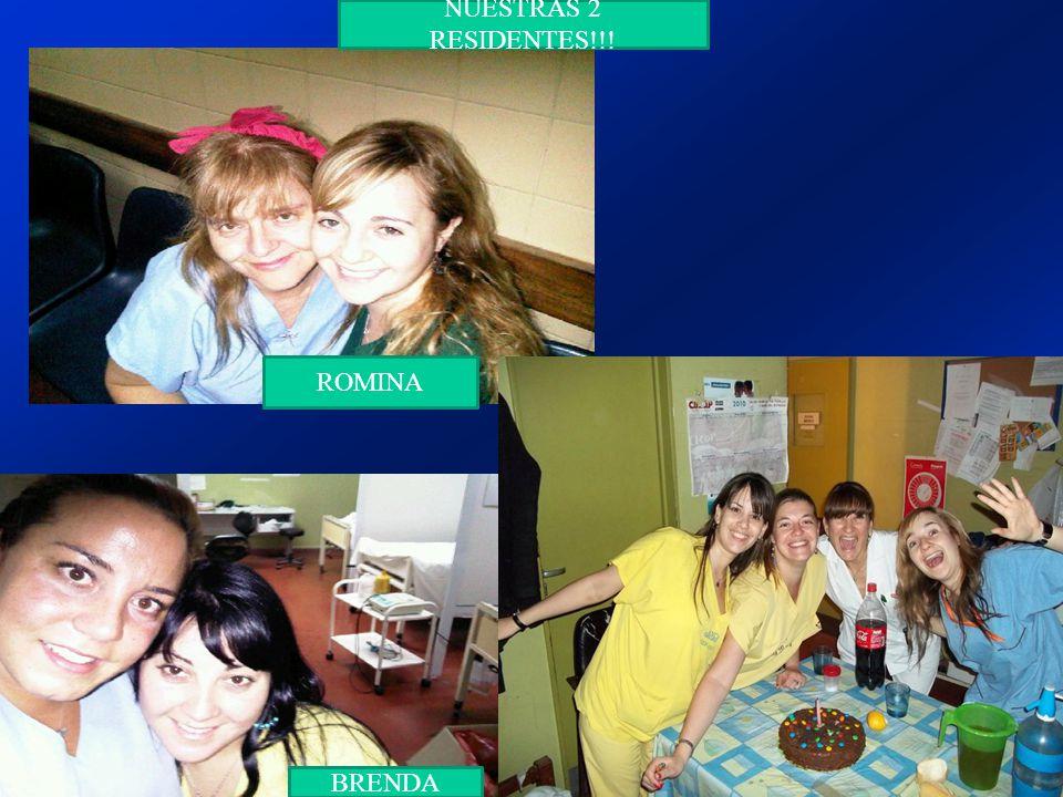 NUESTRAS 2 RESIDENTES!!! BRENDA ROMINA