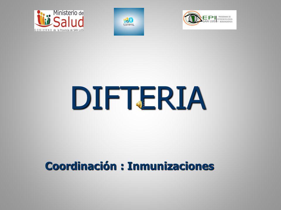 Situación Epidemiológica Esta enfermedad tiene distribución mundial, pero su incidencia ha disminuido por las Campañas de vacunación a partir de la década del 70 con la incorporación de la vacuna DPT.