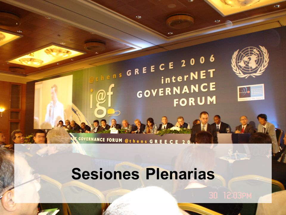 14 Sesiones Plenarias