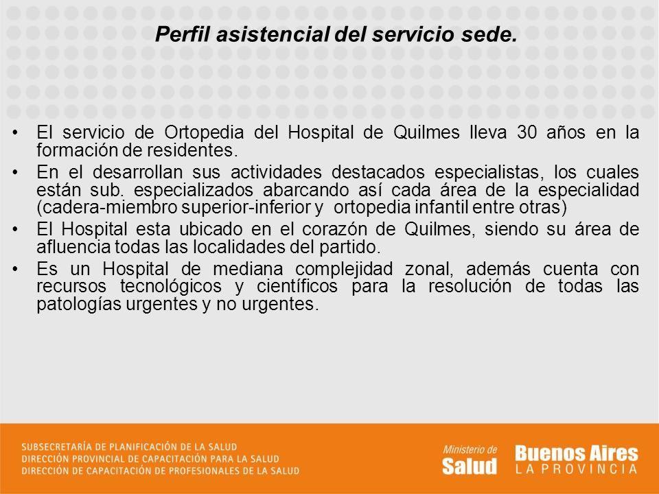 El servicio de Ortopedia y Traumatología dirigido por el Dr.
