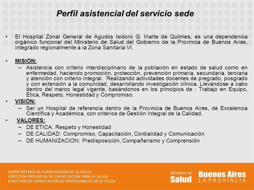 El Hospital Zonal General de Agudos Isidoro G. Iriarte de Quilmes, es una dependencia orgánico funcional del Ministerio de Salud del Gobierno de la Pr