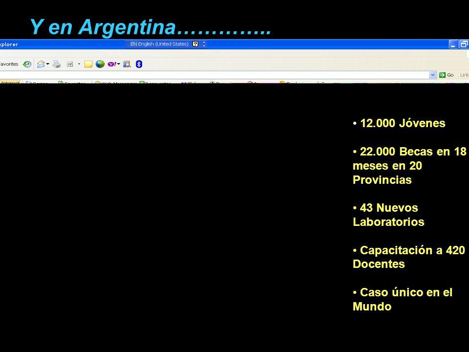 Y en Argentina…………..