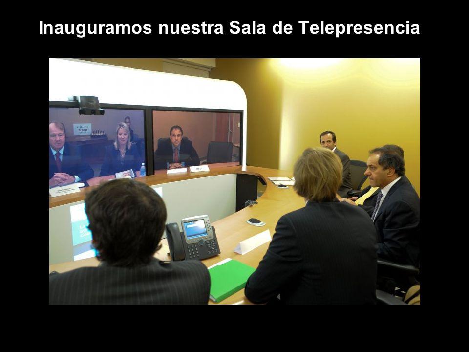 Inauguramos nuestra Sala de Telepresencia