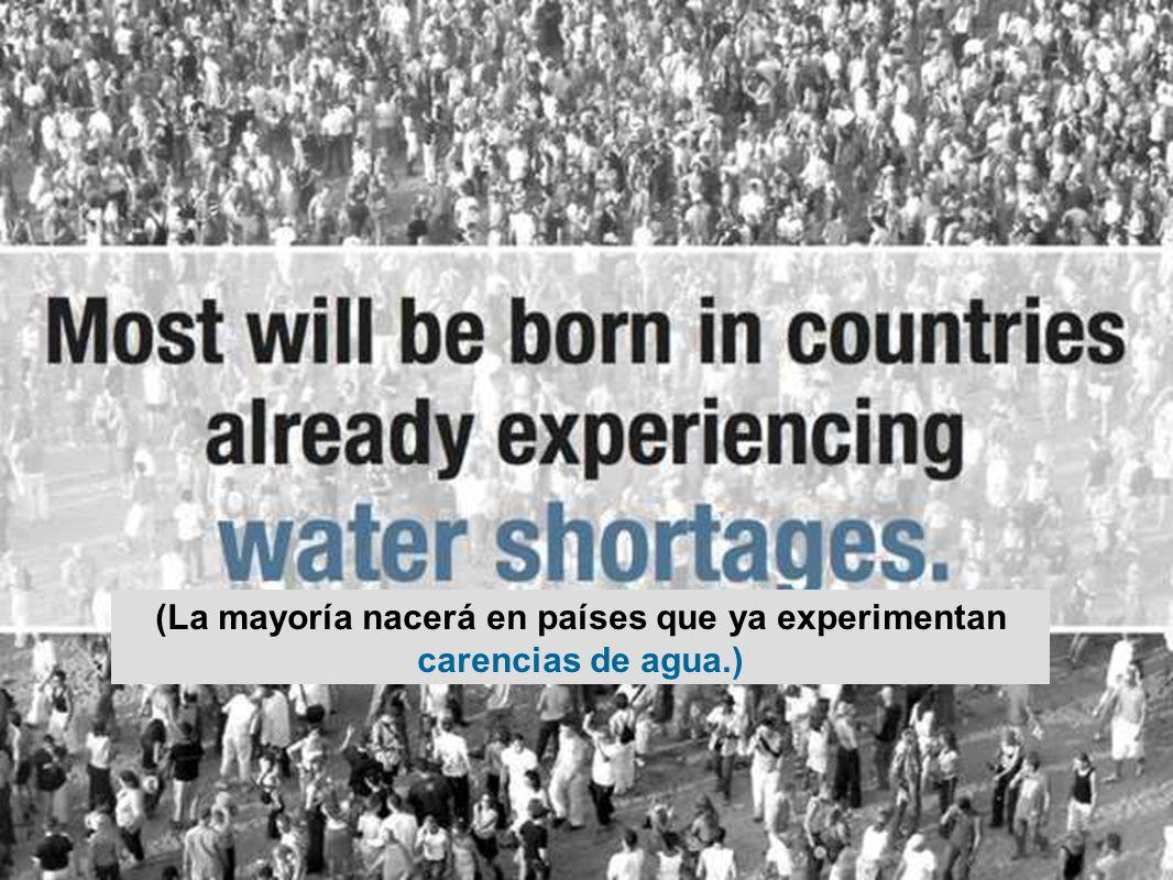 (A mediados de siglo, habrán 3000 millones de personas más.)