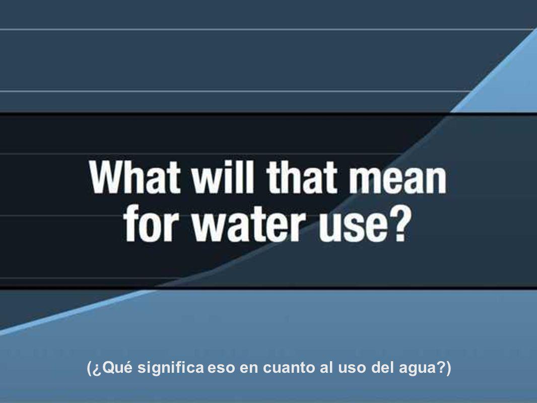 (La mayoría nacerá en países que ya experimentan carencias de agua.)