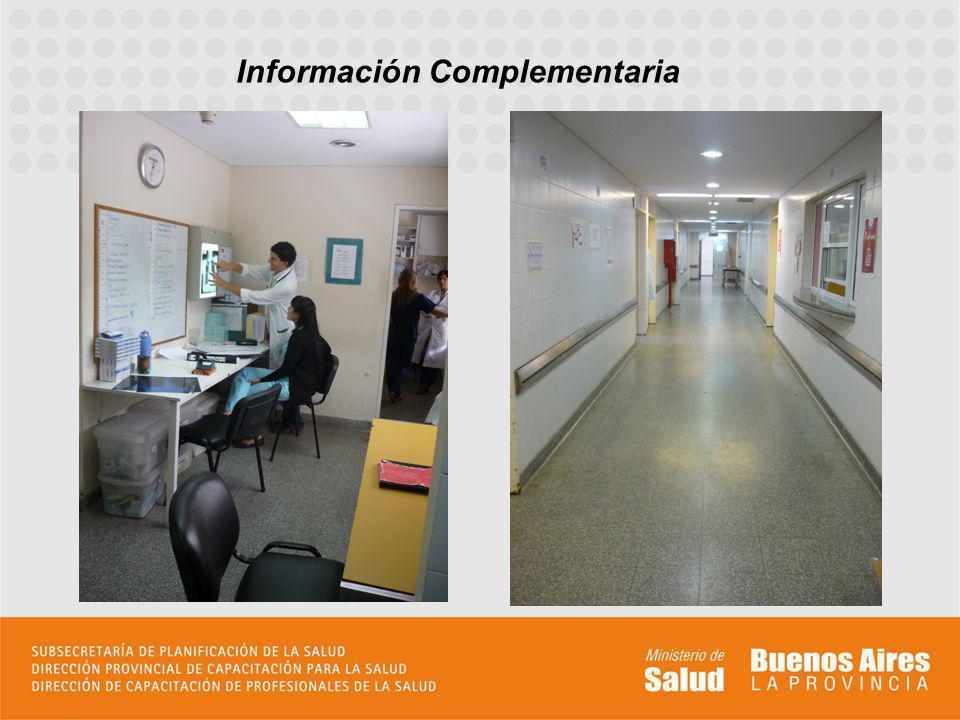 http://hospitalkm32.blogspot.com.ar/ Información Complementaria Incluir todo aquello que permita al aspirante formar su idea de la residencia, pudiendo incluir fotos, diagramas, etc.