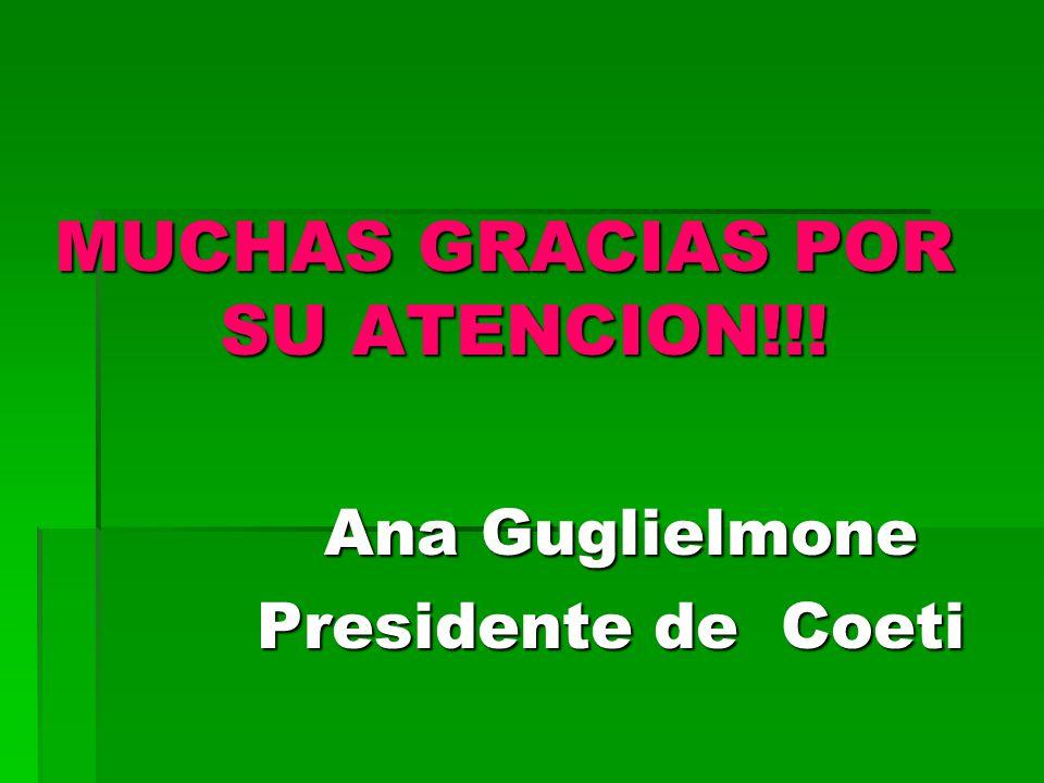 MUCHAS GRACIAS POR SU ATENCION!!.