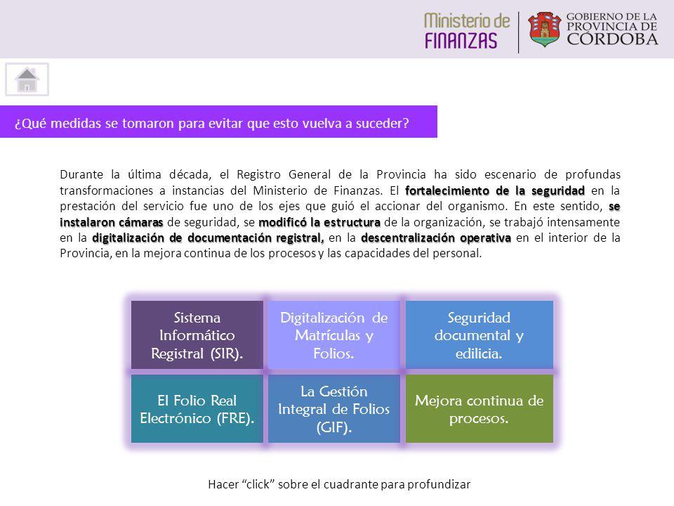 El Folio Real Electrónico (FRE).La Gestión Integral de Folios (GIF).