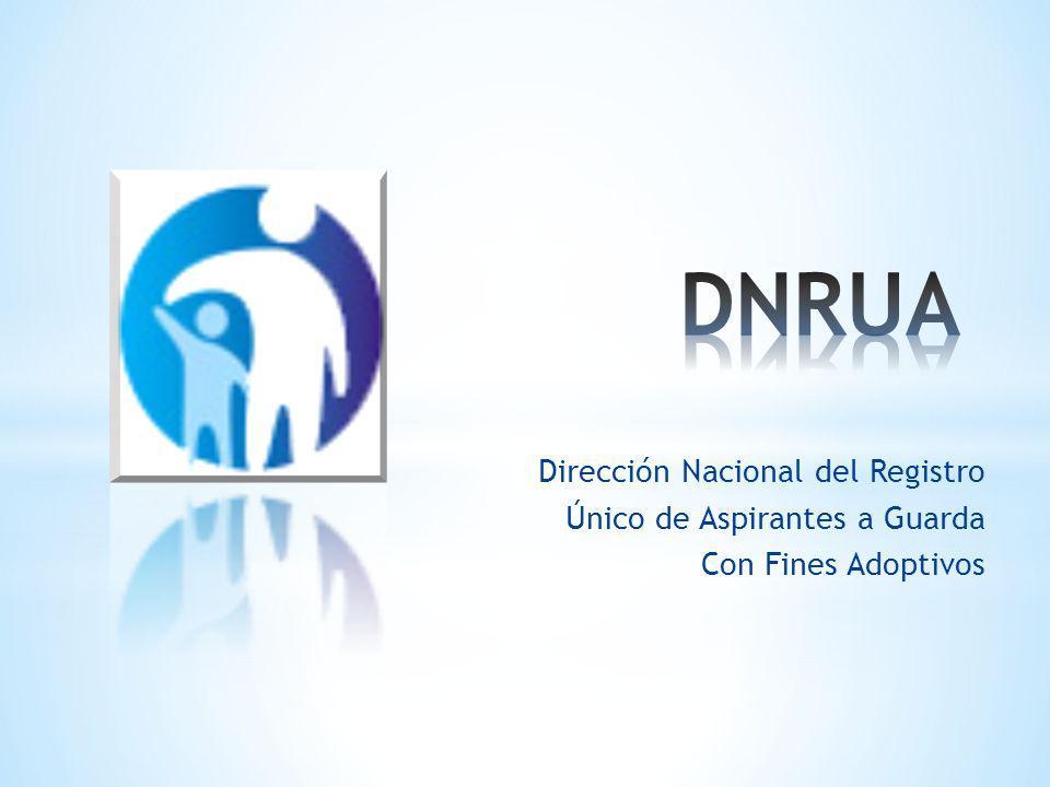 Dirección Nacional del Registro Único de Aspirantes a Guarda Con Fines Adoptivos